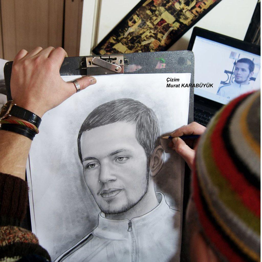 Karakalem Portre Çizimleri - Sanatsal Hediyeler İstanbul kadıköy bağdat caddesi ümraniye 19
