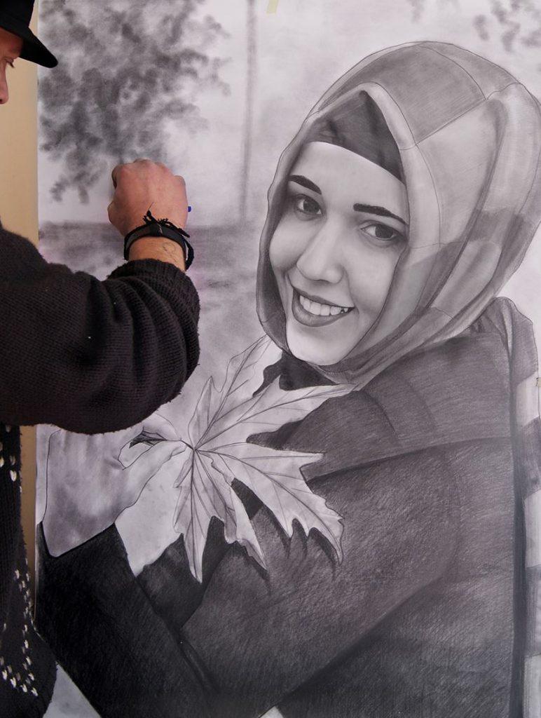 Karakalem Portre Çizimleri - Sanatsal Hediyeler İstanbul kadıköy bağdat caddesi ümraniye 25
