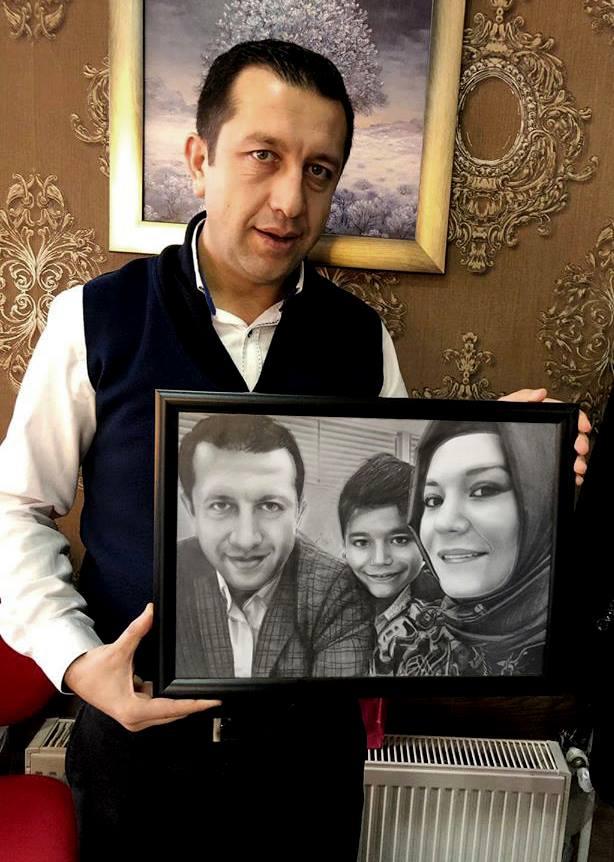 Karakalem Portre Çizimleri - Sanatsal Hediyeler İstanbul kadıköy bağdat caddesi ümraniye 73