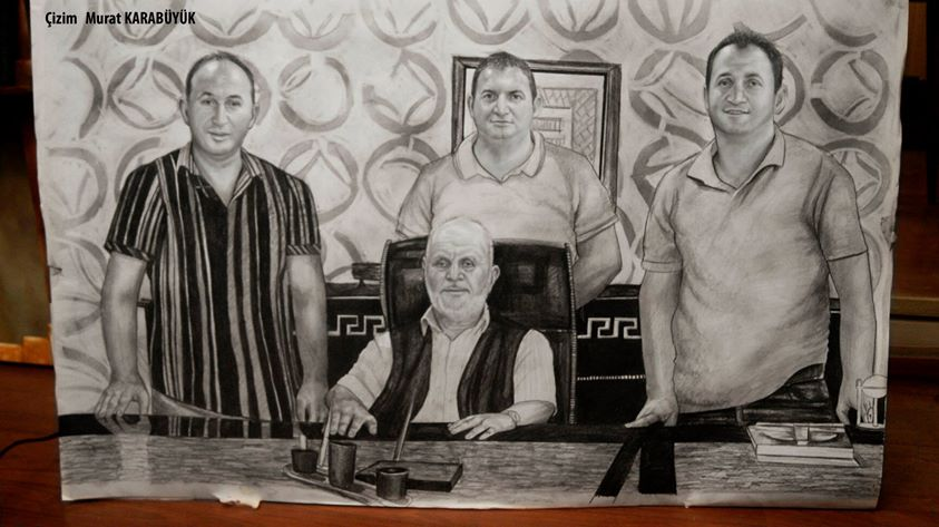 Karakalem Portre Çizimleri - Sanatsal Hediyeler İstanbul kadıköy bağdat caddesi ümraniye 76