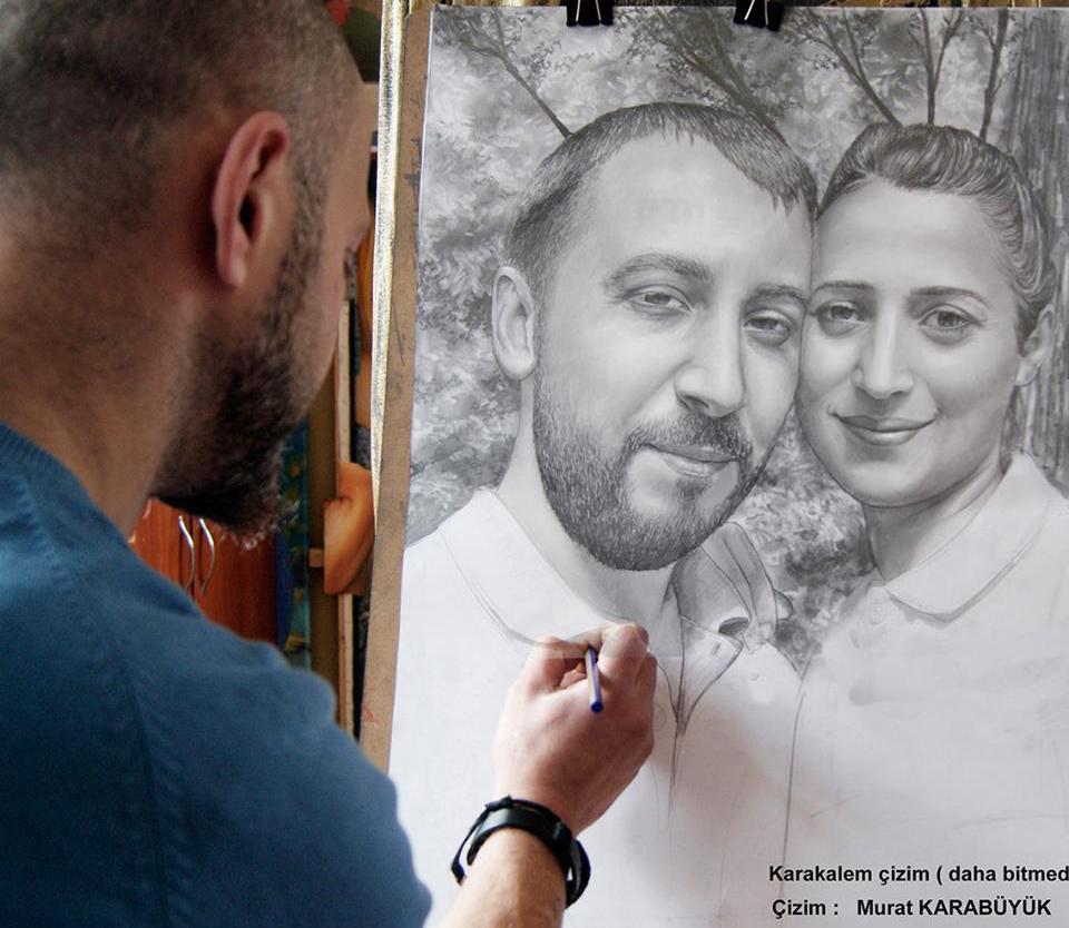 Karakalem Portre Çizimleri - Sanatsal Hediyeler İstanbul kadıköy bağdat caddesi ümraniye 24