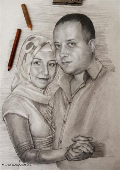 Karakalem Portre Çizimleri - Sanatsal Hediyeler İstanbul kadıköy bağdat caddesi ümraniye 33