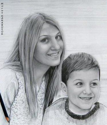 Karakalem Portre Çizimleri - Sanatsal Hediyeler İstanbul kadıköy bağdat caddesi ümraniye 133