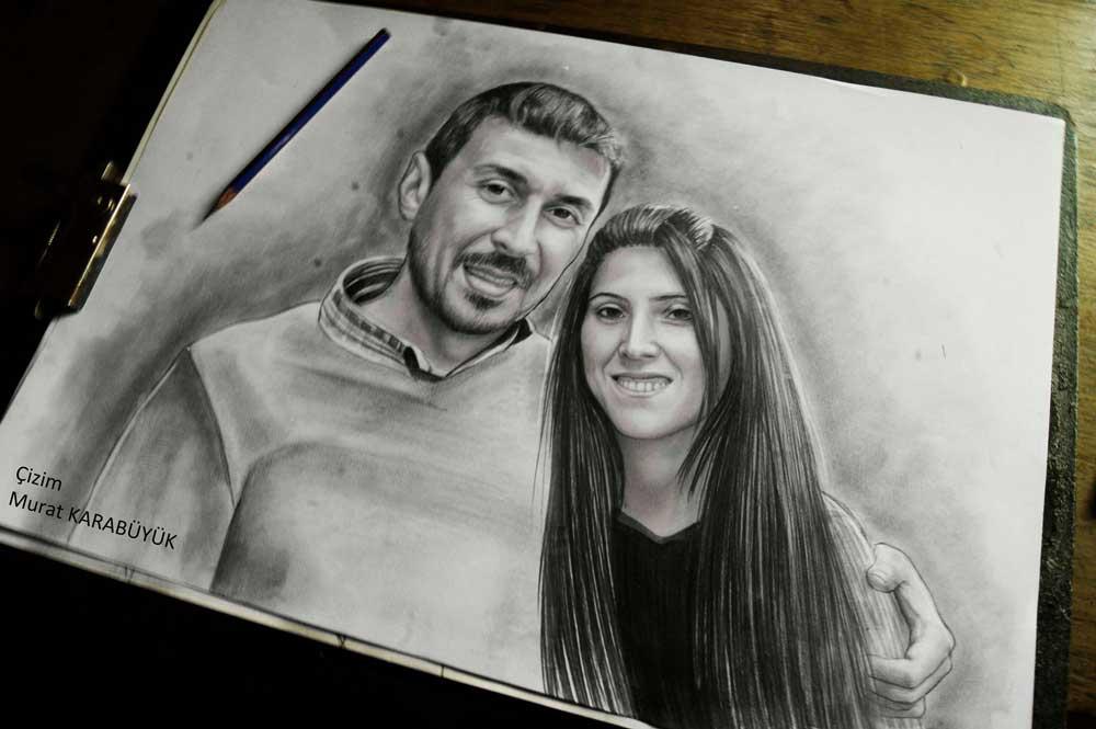 Karakalem Portre Çizimleri - Sanatsal Hediyeler İstanbul kadıköy bağdat caddesi ümraniye 114