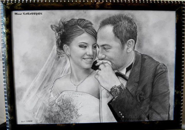 Karakalem Portre Çizimleri - Sanatsal Hediyeler İstanbul kadıköy bağdat caddesi ümraniye 117