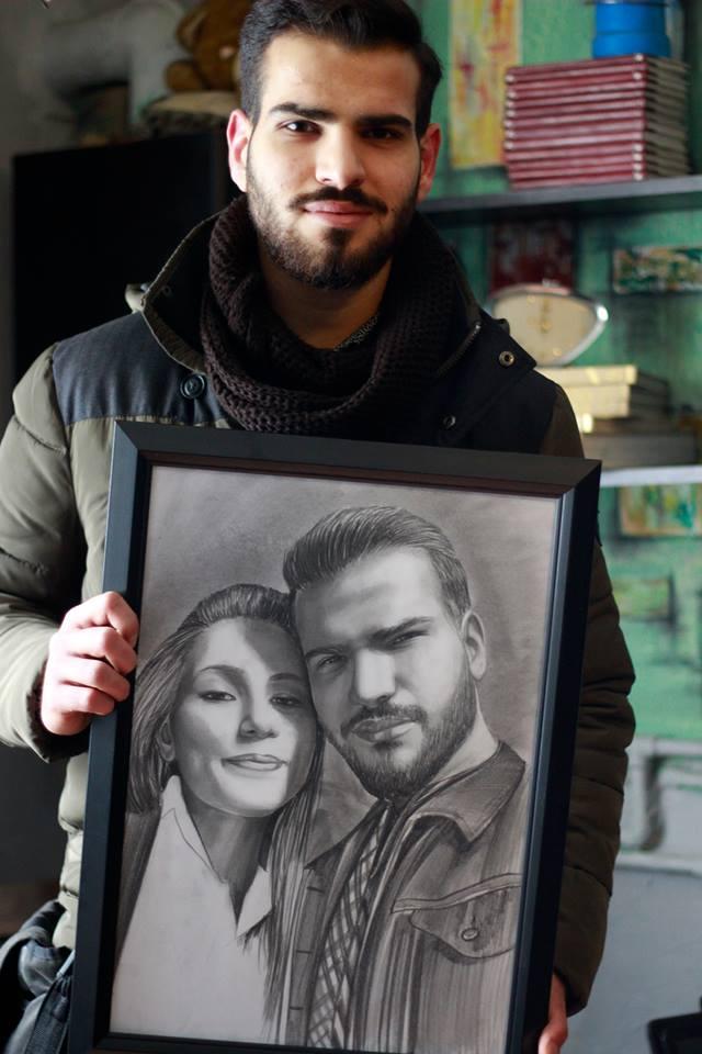 Karakalem Portre Çizimleri - Sanatsal Hediyeler İstanbul kadıköy bağdat caddesi ümraniye 79