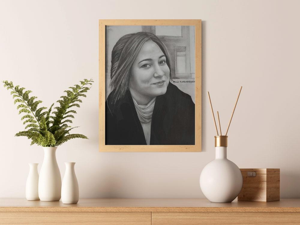 Karakalem Portre Çizimleri - Sanatsal Hediyeler İstanbul