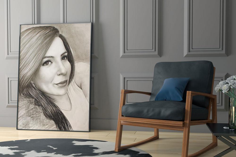 Karakalem Portre Çizimleri - Sanatsal Hediyeler İstanbul kadıköy bağdat caddesi ümraniye