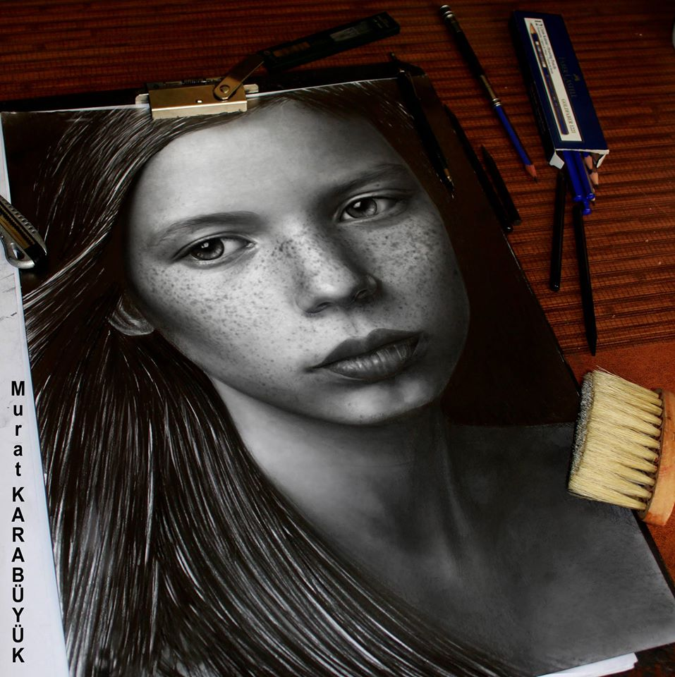 Karakalem Portre Çizimleri - Sanatsal Hediyeler İstanbul kadıköy bağdat caddesi ümraniye 16