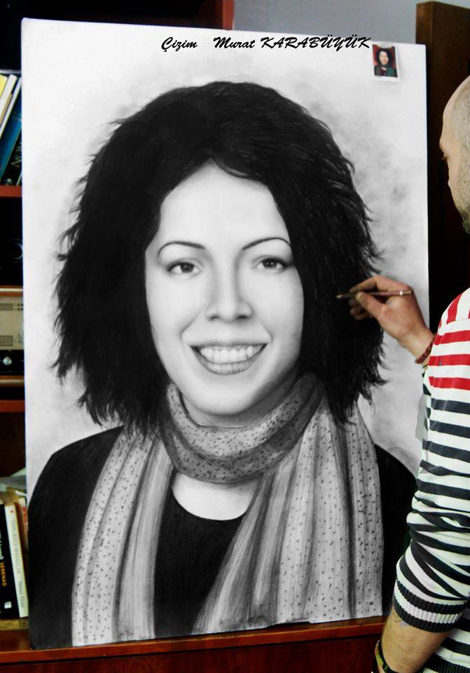 Karakalem Portre Çizimleri - Sanatsal Hediyeler İstanbul kadıköy bağdat caddesi ümraniye 62