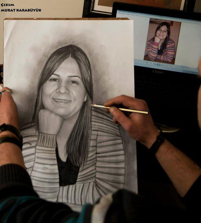 Karakalem Portre Çizimleri - Sanatsal Hediyeler İstanbul kadıköy bağdat caddesi ümraniye 123