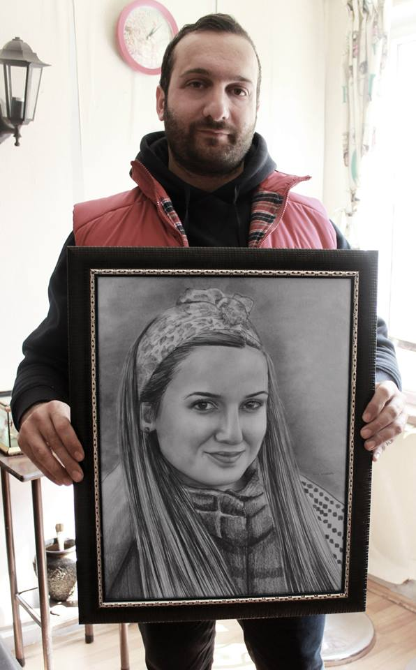 Karakalem Portre Çizimleri - Sanatsal Hediyeler İstanbul kadıköy bağdat caddesi ümraniye 39
