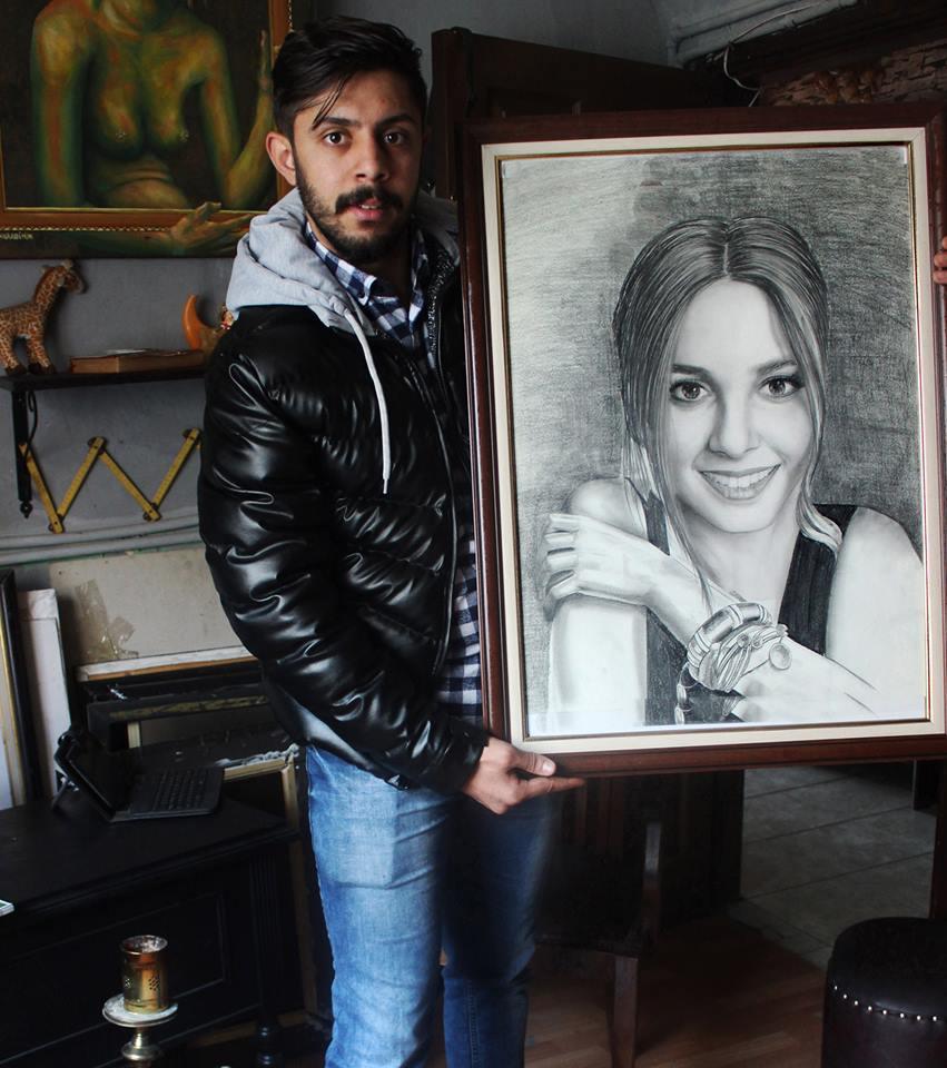 Karakalem Portre Çizimleri - Sanatsal Hediyeler İstanbul kadıköy bağdat caddesi ümraniye 4