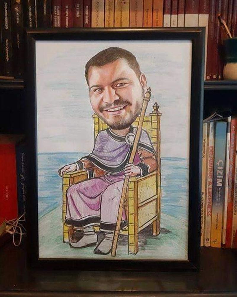 Karikatür Portre Çalışmaları - Sanatsal Hediyeler İstanbul kadıköy bağdat caddesi ümraniye