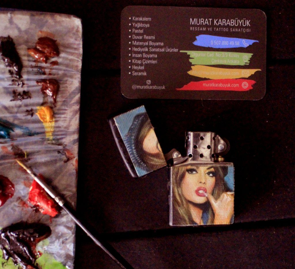 Yağlıboya portre hediye anahtarlık - Sanatsal Hediyeler kadıköy bağdat caddesi ümraniye 2