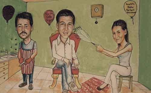 Karikatür Portre Çalışmaları İstanbul