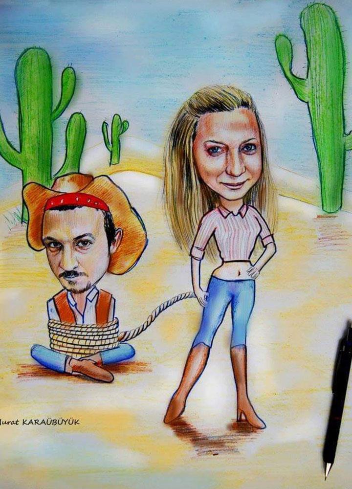 karikatür portre istanbul yapan yerler Yağlıboya portre hediye anahtarlık - Sanatsal Hediyeler kadıköy bağdat caddesi ümraniye 3