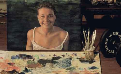Yağlıboya Portre Çalışmaları İstanbul